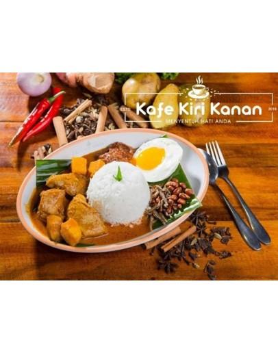 Set 2 (Nasi  Kari Ayam + Teh  Ais)