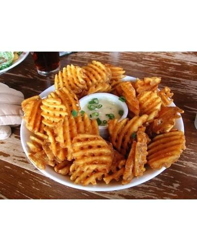 Fried Potato Waffles 炸薯片