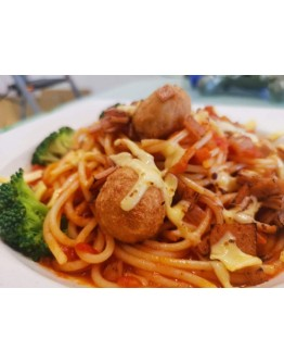 Pasta Bolognese Cheese 番茄意大利面 (芝士)