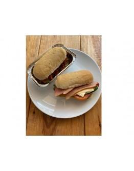 Egg and Ham Sandwich