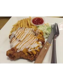 Cheezy Chicken Chop