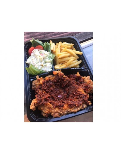 Chilli Garam Chicken Chop