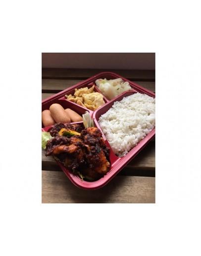 Chilli Garam Chicken or Fish Rice