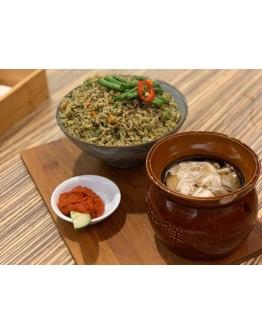 Quinoa Long Bean Brown Rice
