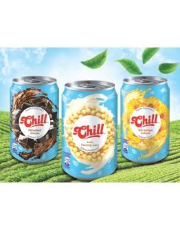 Chill Teh Bunga /Chill Cincau /Chill Soya Bean