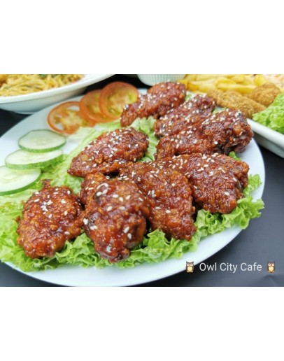 Korean Spicy Chicken  Winglets x 8pcs