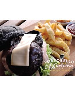 Portobello Mushroom Burger (Vegetarian Friendly) contains Garlic