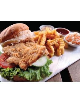 Texas Pork Chop Burger