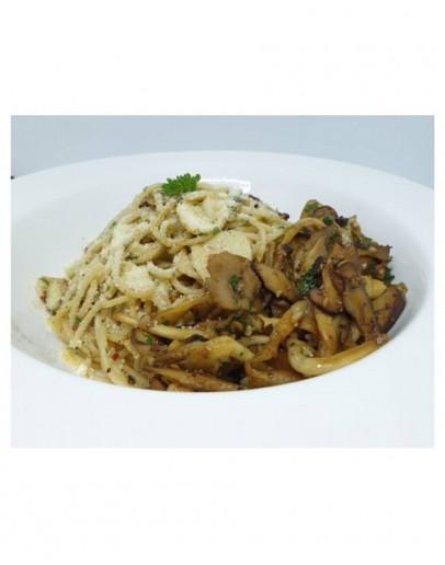 Aglio-olio with Mushroom
