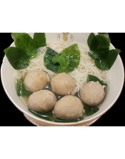 Bursting Meatball Noodle爆酱肉丸面