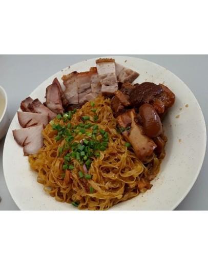 PORK TROTTER VINEGAR HOMEMADE NOODLE (DRY)猪脚醋手工面(干)