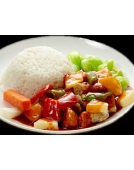 Sweet&Sour Pork Rice咕唠肉饭