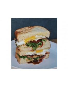 Pork Loin and Egg Sandwich