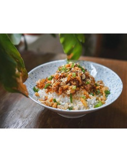 Sriracha Honey Pork Slice Rice