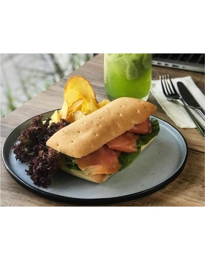 Ciabatta Sandwhich (with Tapioca Chips)