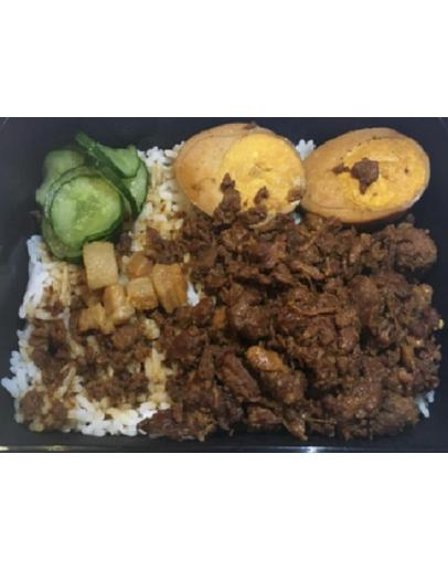 Loh Bak Rice 滷肉饭