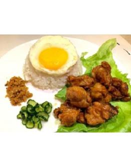 Marmite Chicken/ Fish Rice 妈密鸡 / 鱼飯